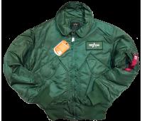 Куртка утеплённая CWU Pilot 45P (GREEN)