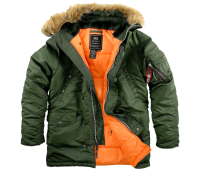 Аляска Alpha Industries SF N3-B SAGE ORANGE