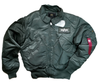 Куртка утеплённая CWU Pilot 45P (GUN METAL)