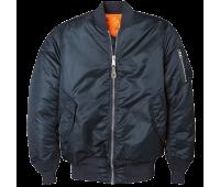 Куртка MA-1 BLUE-ORANGE