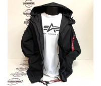 Парка Alpha Industries ECWCS Gen I Parka Mod (Black)
