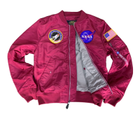 Куртка Alpha Industries NASA L-2B (Commander Red)