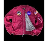 Куртка Alpha Industries L-2B NASA (Commander red)