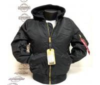 Куртка Alpha Industries MA-1 Natus (Black)