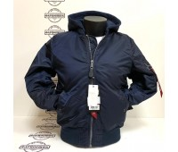 Куртка Alpha Industries MA-1 Natus (Blue)