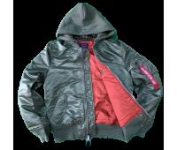 Куртка Alpha Industries утепленная MA-1 Natus (Sage/Rust)