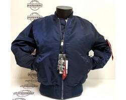 Куртка Alpha Industries MA-1 (Blue/Orange)