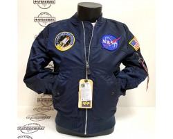 Куртка Alpha Industries L-2B NASA (Blue)