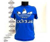Футболка Adidas Originals Oil Mix Trefoil (Dark Blue)