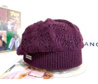 Kangol Comfort Knit-Beret (Mulberry)