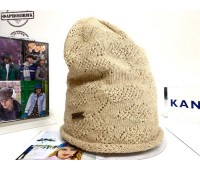Kangol Comfort Knit Long Pull-On (Natural)