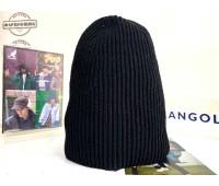 Kangol Cord Rib Toque (Black)