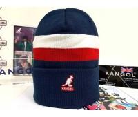 Kangol Dual Stripe Beanie (Navy)