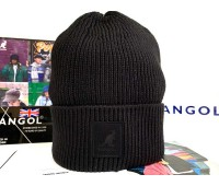 Kangol Patch Beanie (Black)