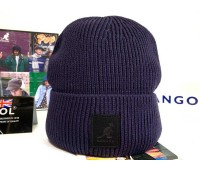 Kangol Patch Beanie (Navy)