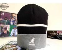 Kangol Sport Stripe Beanie (Black)
