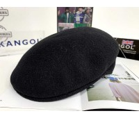 Kangol Wool 504 Cap (Black/Gold)