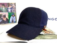 Kangol Textured Wool Baseball (Navy)