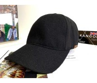 Kangol Textured Wool Baseball (Black)