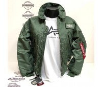 Куртка Alpha Industries CWU 45/P (Sage green)
