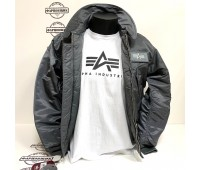 Куртка Alpha Industries CWU 45/P (Gun metal)